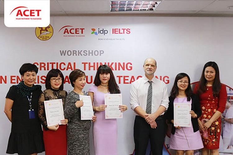 Trung tâm luyện thi IELTS TPHCM ACET