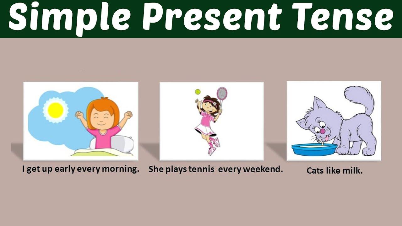 Thì hiện tại đơn (Simple Present Tense) - Cách dùng, Công Thức và bài tập