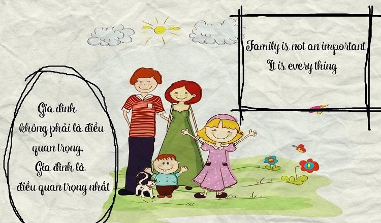 Thành ngữ tiếng Anh - gia đình