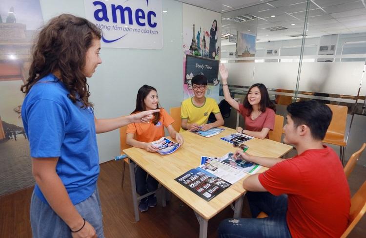Công ty tư vấn du học và đào tạo Âu Mỹ - AMEC - học tiếng Tây Ban Nha uy tín HCM