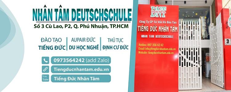 Học Tiếng Đức - Nhân Tâm - trung tâm dạy học tiếng Đức uy tín