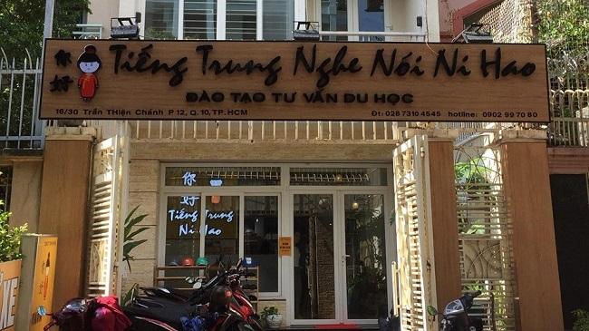 Trung tâm dạy học tiếng Trung Ni Hao