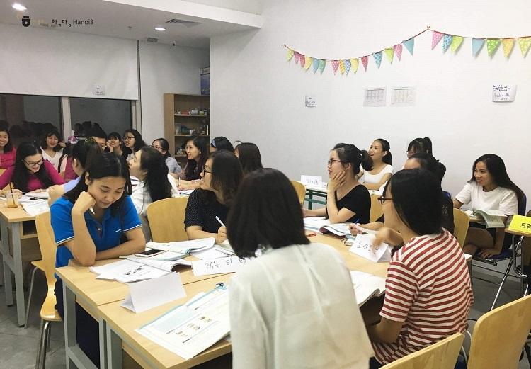Trung tâm tiếng Hàn Hà Nội - SeJong