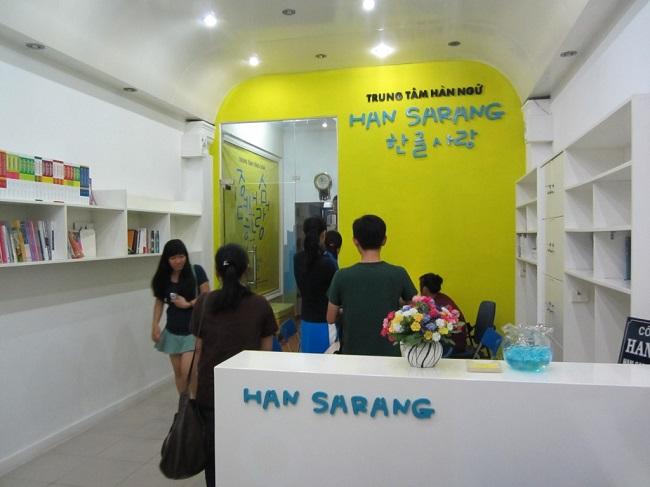 Trung tâm tiếng Hàn - Han Sarang
