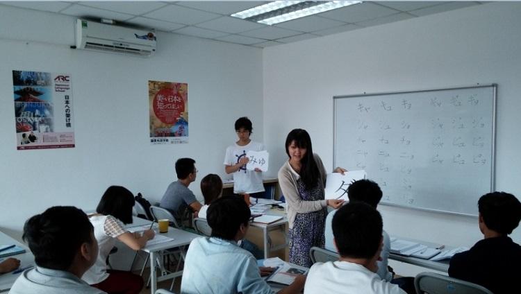Trung tâm tiếng Nhật TPHCM - Tân Tiến