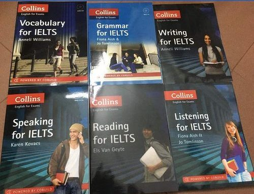 Collins IELTS book