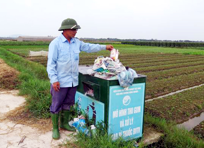 Bỏ rác đúng nơi quy định