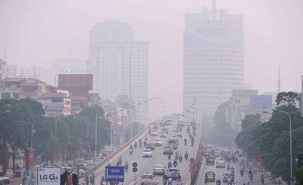 Ô nhiễm môi trường - ô nhiễm không khí