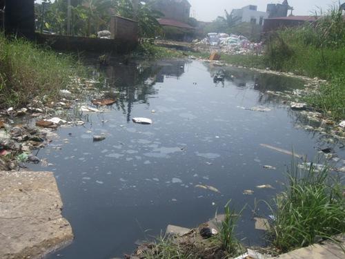 Ô nhiễm môi trường - ô nhiễm nguồn nước