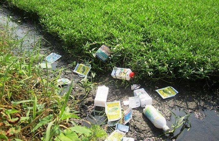 Ô nhiễm nguồn nước - ô nhiễm từ rác thải nông nghiệp