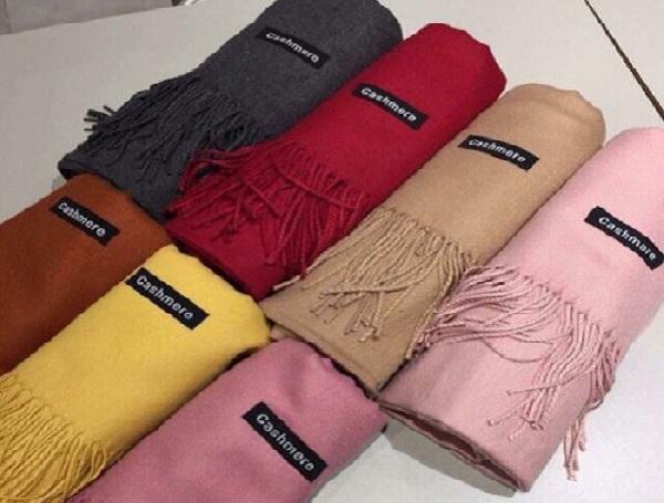 khăn choàng cổ cashmere