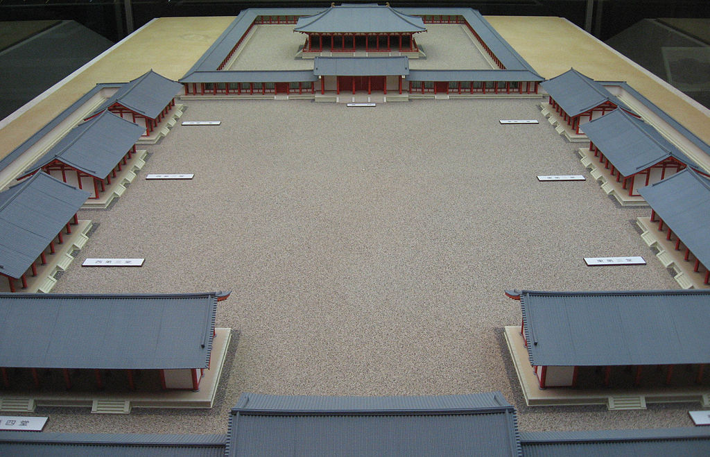 Mô hình cung điện Nagaoka