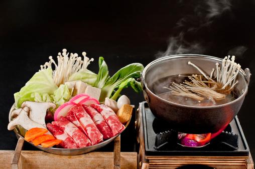 nguyên liệu sukiyaki