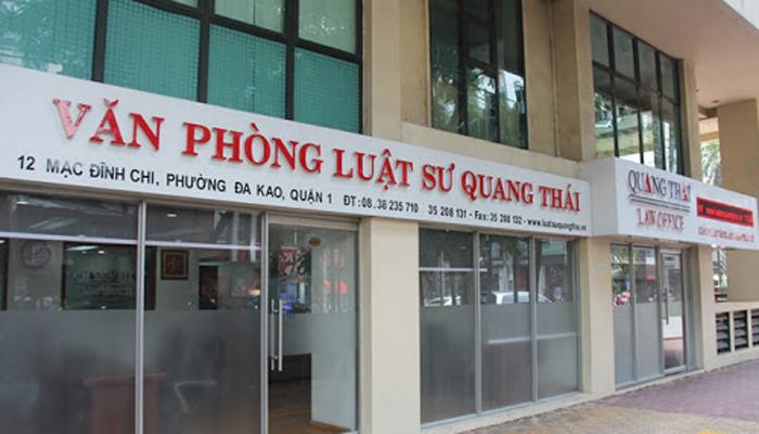 Văn phòng luật sư Quang Thái