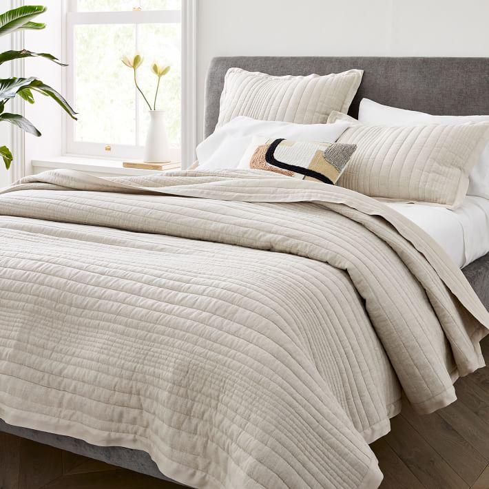 khăn trải giường vải lanh