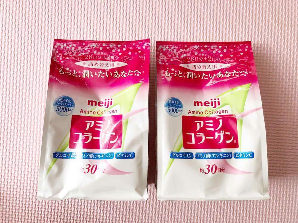 Collagen của Nhật Bản Meiji Amino