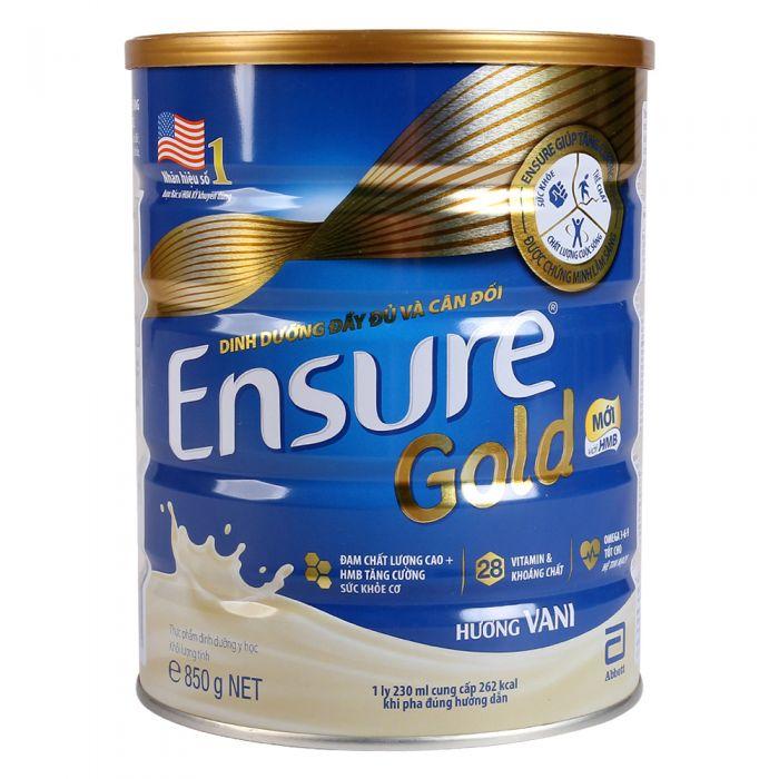 Sữa bổ sung canxi cho người già Ensure Gold