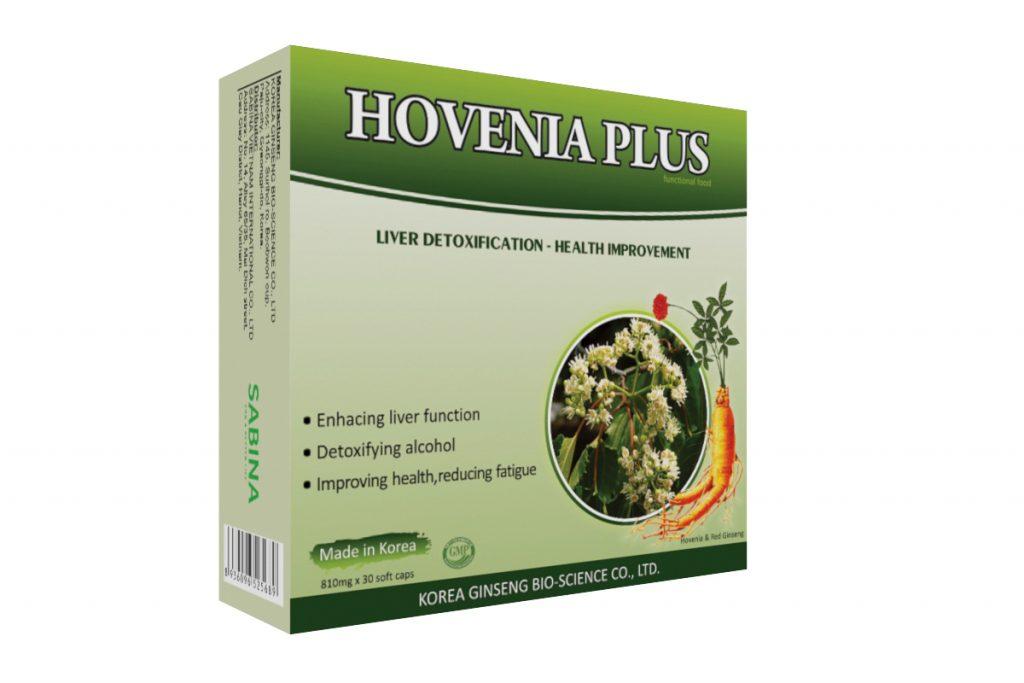 Thuốc hạ men gan Hovenia Plus