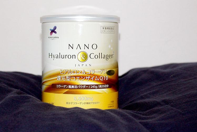 Nano Hyaluron Collagen dạng bột