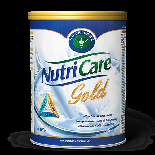 Sữa bổ sung canxi cho người già Nutricare Gold