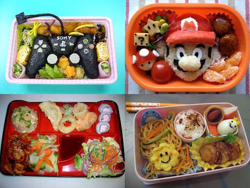 hộp cơm banto nhiều màu sắc