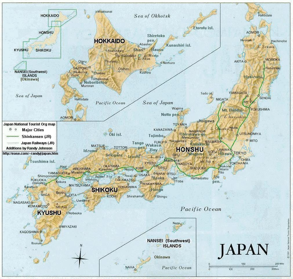 Khám phá 4 đảo lớn hình thành nên Nhật Bản