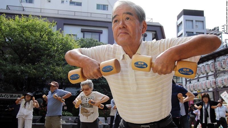 người Nhật khỏe mạnh