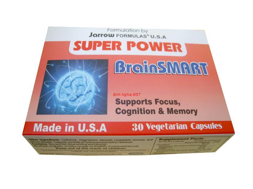 Thuốc bổ não Super Power BrainSmart