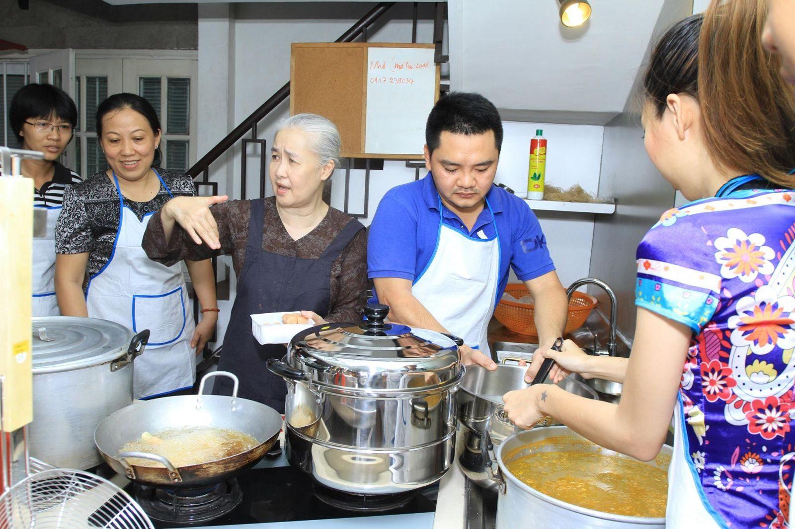 Trường dạy nấu ăn uy tín tại TPHCM