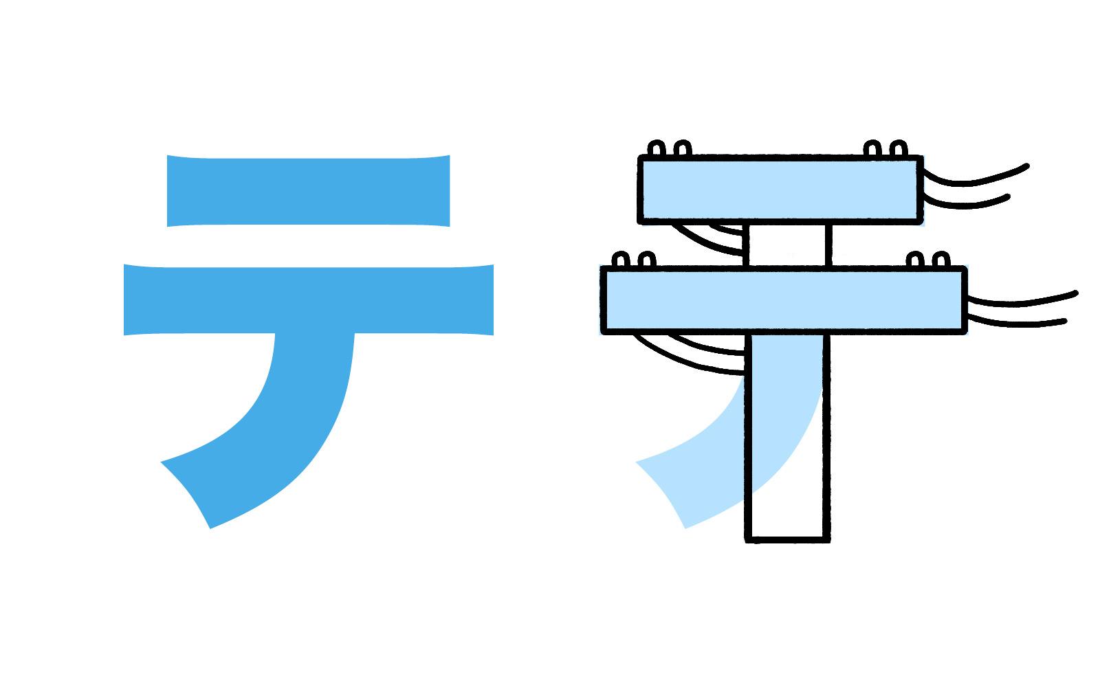 Học chữ cái trong bảng Katakana bằng cách liên tưởng