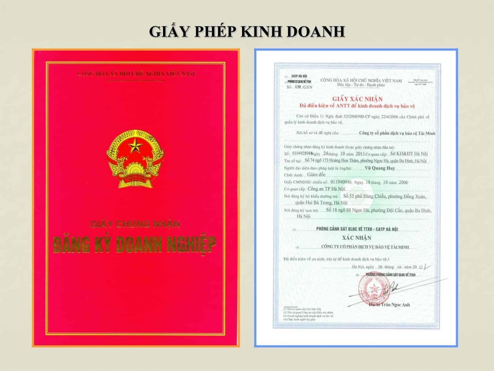 Đặc điểm giấy chứng nhận đăng ký doanh nghiệp