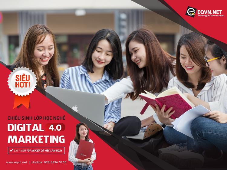 Trung tâm đào tạo Digital Marketing-EQVN