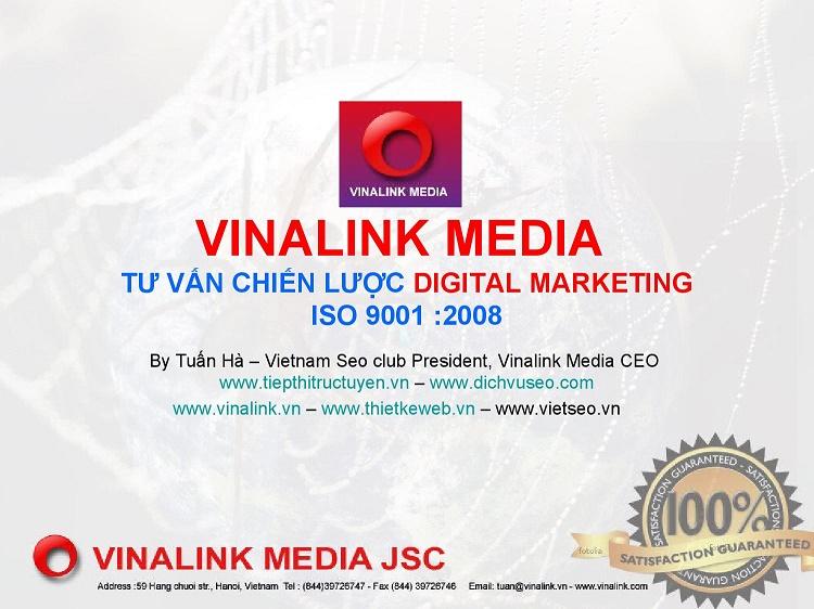 Trung tâm đào tạo Digital Marketing-Vinalink Media