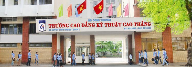 Trường đào tạo công nghệ thông tin TPHCM-Cao đẳng kỷ thuật cao thắng