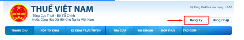 Nộp tờ khai thuế online