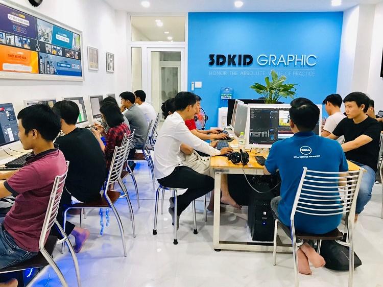 Trung tâm đào tạo Photoshop tốt nhất-3DKID GRAPHIC