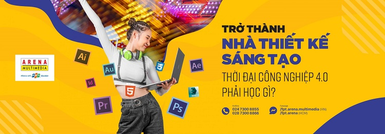 Trung tâm đào tạo Photoshop tốt nhất-FPT ARENA