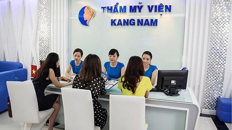 Phun hồng nhũ hoa ở Bệnh viện thẩm mỹ Kangnam