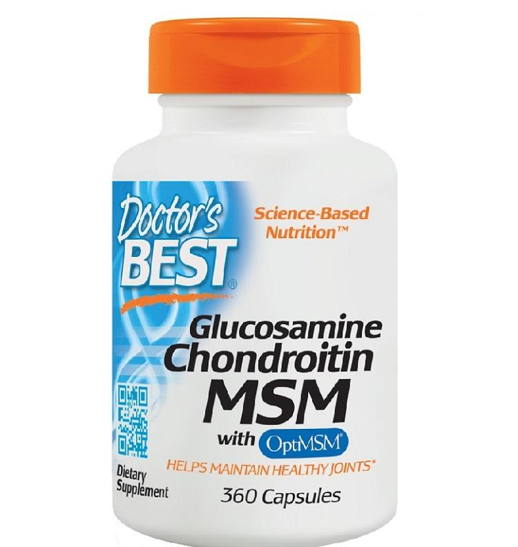 Thực phẩm chức năng xương khớp của Mỹ Glucosamine Chondroitin