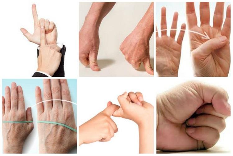 Vật lý trị liệu đau khớp ngón tay trỏ