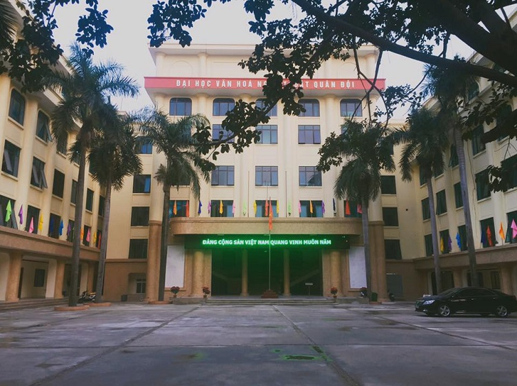 Trường Đại học Văn hóa - Nghệ thuật Quân đội là trường đại học nghệ thuật TPHCM uy tín