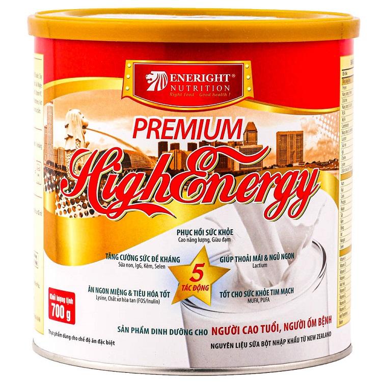 Sữa Premium High Energy của Eneright