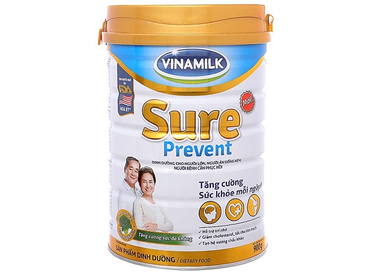 Sữa bột Vinamilk Sure Prevent