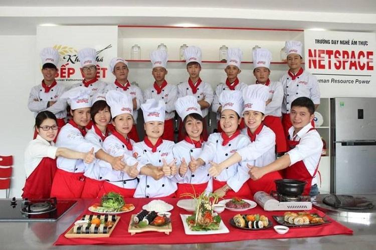 Trường dạy nghề ẩm thực Netspace Hà Nội