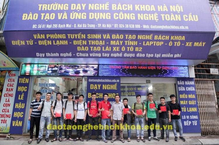 Trung tâm đào tạo nghề Bách Khoa Hà Nội