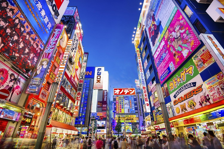 Trung tâm mua sắm Nhật Bản Akihabara – Tokyo