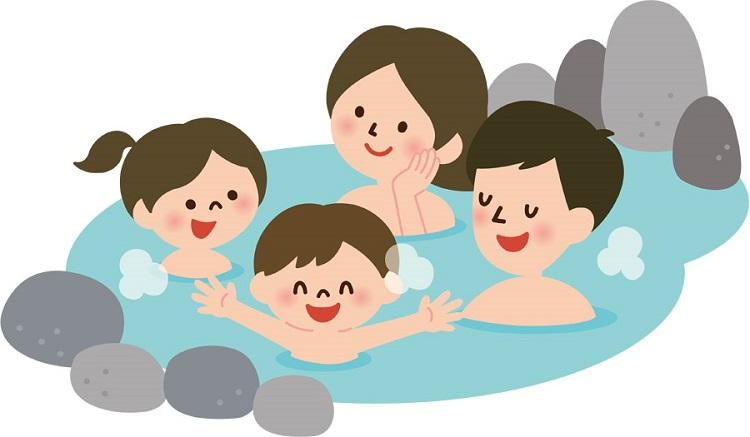 Các bước tắm Onsen