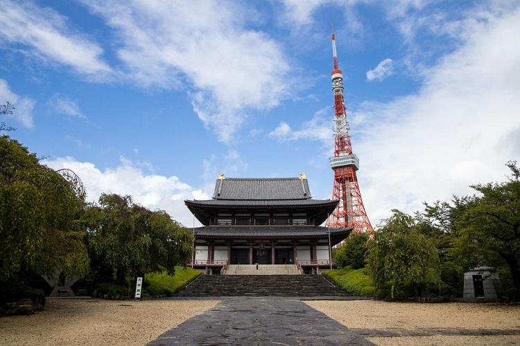 Đền Zojoji Nhật Bản