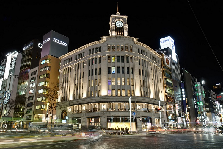 Ginza – Tokyo - trung tâm mua sắm hàng đầu Nhật Bản