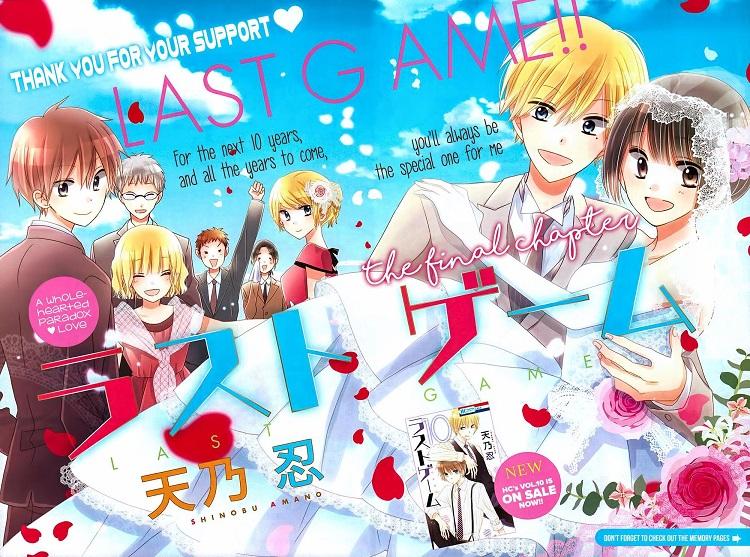 Truyên manga Nhật Last game